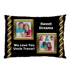 Trevors Pillow By Sabrina   Pillow Case (two Sides)   4vv8myz3peph   Www Artscow Com Front