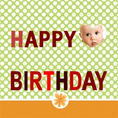 Happy Birthday By Joely   Happy Birthday 3d Greeting Card (8x4)   Wo2slk737cjm   Www Artscow Com Inside