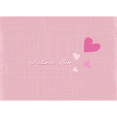 I Love You By Joely   Love Bottom 3d Greeting Card (7x5)   Yn6q0audhqze   Www Artscow Com Back