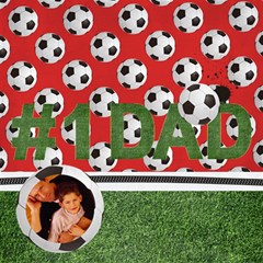 #1 Dad 3d Card (8x4) Soccer, Football By Mikki   #1 Dad 3d Greeting Card (8x4)   A2n53fe4p4nm   Www Artscow Com Inside