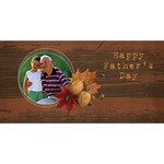 #1 DAD 3D Card (8x4) Cowboy - #1 DAD 3D Greeting Card (8x4)