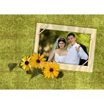 LOVE Bottom 3D Card (7x5) Poem, Sunflowers - LOVE Bottom 3D Greeting Card (7x5)