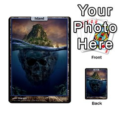 Island   Forest By Frank Ranallo   Multi Purpose Cards (rectangle)   9zyuzhob1ol7   Www Artscow Com Front 32