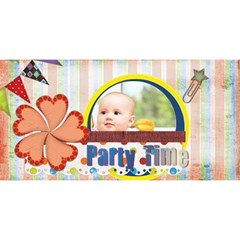 Party By Joely   Party 3d Greeting Card (8x4)   Kboyr72rwulj   Www Artscow Com Front