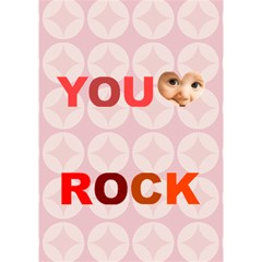 You Rock By Joely   You Rock 3d Greeting Card (7x5)   Chis11nz1gwt   Www Artscow Com Inside