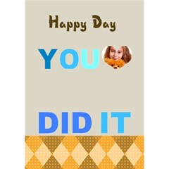 You Did It By Joely   You Did It 3d Greeting Card (7x5)   Twmuxfsdor2z   Www Artscow Com Inside