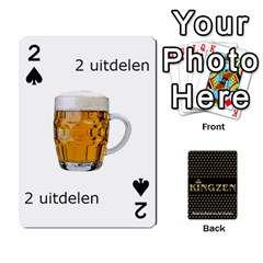Ruuds Bierspel By Ruudvds   Playing Cards 54 Designs   6c2agwqk1rh6   Www Artscow Com Front - Spade2