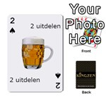 Ruuds Bierspel - Playing Cards 54 Designs