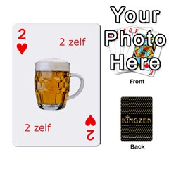 Ruuds Bierspel By Ruudvds   Playing Cards 54 Designs   6c2agwqk1rh6   Www Artscow Com Front - Heart2