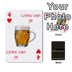 Ruuds Bierspel By Ruudvds   Playing Cards 54 Designs   6c2agwqk1rh6   Www Artscow Com Front - Heart4