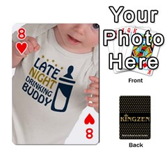 Ruuds Bierspel By Ruudvds   Playing Cards 54 Designs   6c2agwqk1rh6   Www Artscow Com Front - Heart8