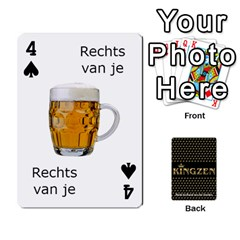 Ruuds Bierspel By Ruudvds   Playing Cards 54 Designs   6c2agwqk1rh6   Www Artscow Com Front - Spade4