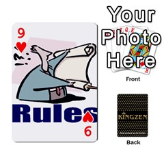 Ruuds Bierspel By Ruudvds   Playing Cards 54 Designs   6c2agwqk1rh6   Www Artscow Com Front - Heart9