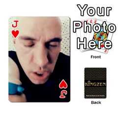 Jack Ruuds Bierspel By Ruudvds   Playing Cards 54 Designs   6c2agwqk1rh6   Www Artscow Com Front - HeartJ