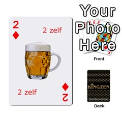 Ruuds Bierspel By Ruudvds   Playing Cards 54 Designs   6c2agwqk1rh6   Www Artscow Com Front - Diamond2