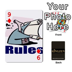 Ruuds Bierspel By Ruudvds   Playing Cards 54 Designs   6c2agwqk1rh6   Www Artscow Com Front - Diamond9