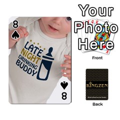 Ruuds Bierspel By Ruudvds   Playing Cards 54 Designs   6c2agwqk1rh6   Www Artscow Com Front - Spade8