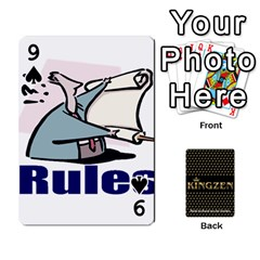 Ruuds Bierspel By Ruudvds   Playing Cards 54 Designs   6c2agwqk1rh6   Www Artscow Com Front - Spade9