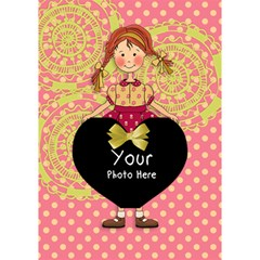 Heart By Lillyskite   Heart Bottom 3d Greeting Card (7x5)   Cddmx1x7nfl8   Www Artscow Com Inside