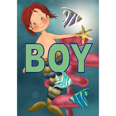 Boy By Lillyskite   Boy 3d Greeting Card (7x5)   Td9v9o2qs16j   Www Artscow Com Inside