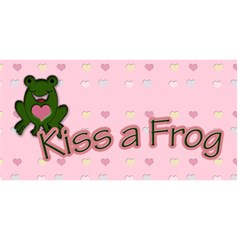 Save A Prince, Kiss A Frog By Patricia W Front