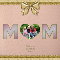 Muli Purpose Mom Card 3d By Deborah   Mom 3d Greeting Card (8x4)   Iu5pq5a0ujpk   Www Artscow Com Inside