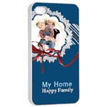 my home - Apple iPhone 4/4s Seamless Case (White)