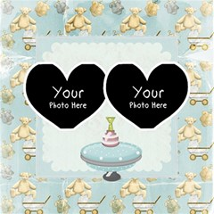 2 Hearts By Lillyskite   Twin Hearts 3d Greeting Card (8x4)   Akkorzkwgw8y   Www Artscow Com Inside
