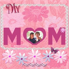 My Best Friend   My Mom Flower 3d Card By Ellan   Mom 3d Greeting Card (8x4)   Rtqu2c1uqcc2   Www Artscow Com Inside