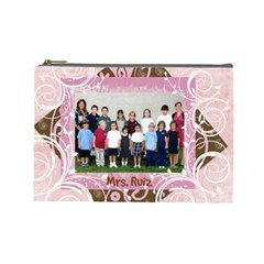 Miss Ruiz By Kim   Cosmetic Bag (large)   6a560t53yiy3   Www Artscow Com Front