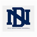 2012 DNHS Baseball - Small Glasses Cloth (2 Sides)