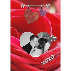 Love Story 3d Card By Lil    Heart Bottom 3d Greeting Card (7x5)   73rf4v04kwv4   Www Artscow Com Inside