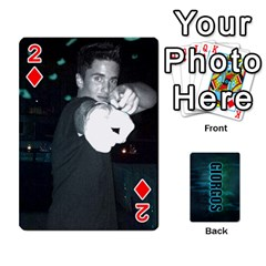 Giorgos Cards By Marka20300   Playing Cards 54 Designs   Uzktoksw37uf   Www Artscow Com Front - Diamond2