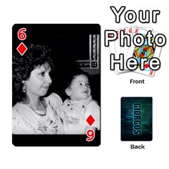 Giorgos Cards By Marka20300   Playing Cards 54 Designs   Uzktoksw37uf   Www Artscow Com Front - Diamond6