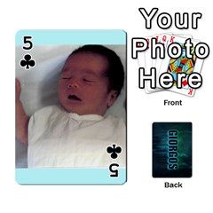 Giorgos Cards By Marka20300   Playing Cards 54 Designs   Uzktoksw37uf   Www Artscow Com Front - Club5