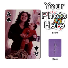 Ace Mariza Cards By Marka20300   Playing Cards 54 Designs   6guy4uxntrw6   Www Artscow Com Front - SpadeA