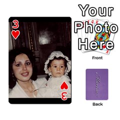 Mariza Cards By Marka20300   Playing Cards 54 Designs   6guy4uxntrw6   Www Artscow Com Front - Heart3