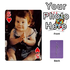 Mariza Cards By Marka20300   Playing Cards 54 Designs   6guy4uxntrw6   Www Artscow Com Front - Heart5