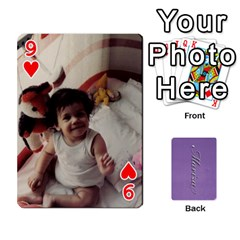 Mariza Cards By Marka20300   Playing Cards 54 Designs   6guy4uxntrw6   Www Artscow Com Front - Heart9