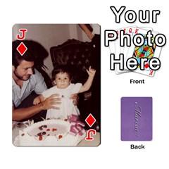 Jack Mariza Cards By Marka20300   Playing Cards 54 Designs   6guy4uxntrw6   Www Artscow Com Front - DiamondJ
