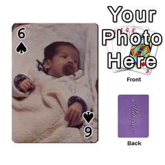 Mariza Cards By Marka20300   Playing Cards 54 Designs   6guy4uxntrw6   Www Artscow Com Front - Spade6