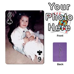 Mariza Cards By Marka20300   Playing Cards 54 Designs   6guy4uxntrw6   Www Artscow Com Front - Club6