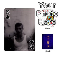 King Spiros Cards By Marka20300   Playing Cards 54 Designs   3lnj5g2c0iod   Www Artscow Com Front - SpadeK