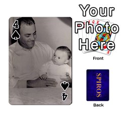 Spiros Cards By Marka20300   Playing Cards 54 Designs   3lnj5g2c0iod   Www Artscow Com Front - Spade4