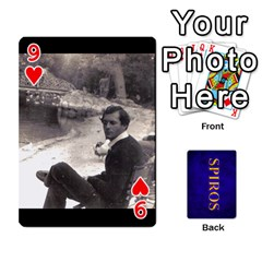 Spiros Cards By Marka20300   Playing Cards 54 Designs   3lnj5g2c0iod   Www Artscow Com Front - Heart9