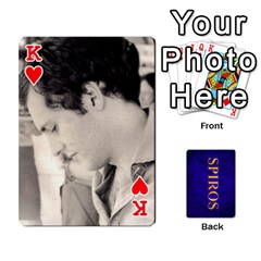 King Spiros Cards By Marka20300   Playing Cards 54 Designs   3lnj5g2c0iod   Www Artscow Com Front - HeartK