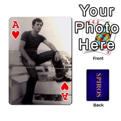 Ace Spiros Cards By Marka20300   Playing Cards 54 Designs   3lnj5g2c0iod   Www Artscow Com Front - HeartA