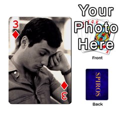 Spiros Cards By Marka20300   Playing Cards 54 Designs   3lnj5g2c0iod   Www Artscow Com Front - Diamond3