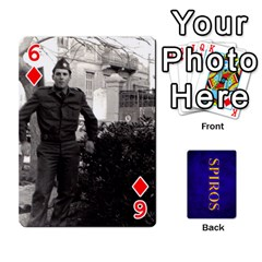Spiros Cards By Marka20300   Playing Cards 54 Designs   3lnj5g2c0iod   Www Artscow Com Front - Diamond6