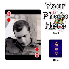 Spiros Cards By Marka20300   Playing Cards 54 Designs   3lnj5g2c0iod   Www Artscow Com Front - Diamond8
